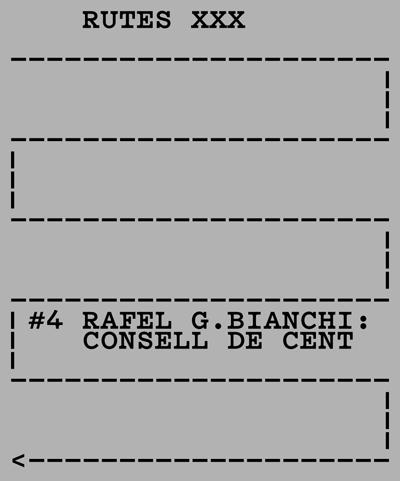 Rutes XXX Rafel G. Bianchi