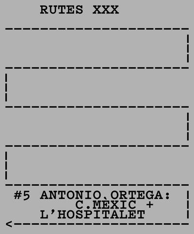Rutes XXX Antonio Ortega